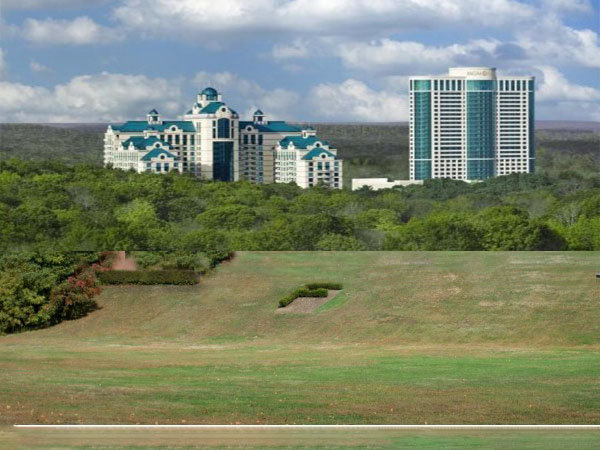 Foxwoods Casino in place of Farmington High School