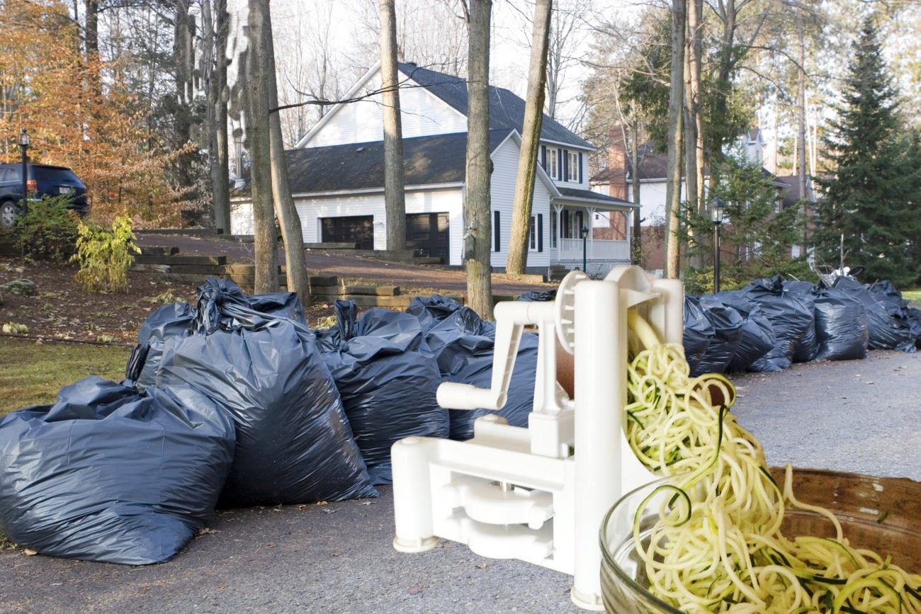 Bulky Waste at Curbside with Giant Spiralizer